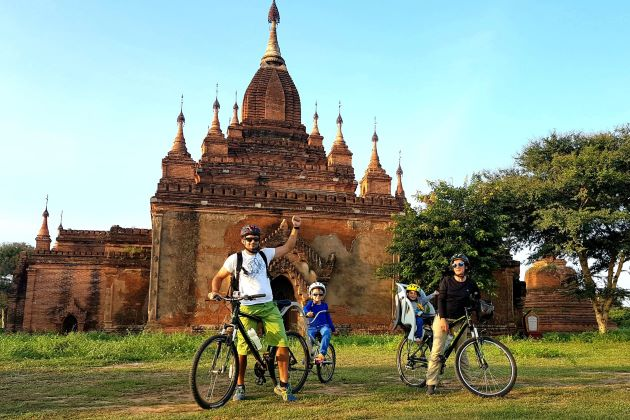 Myanmar family adventure holiday