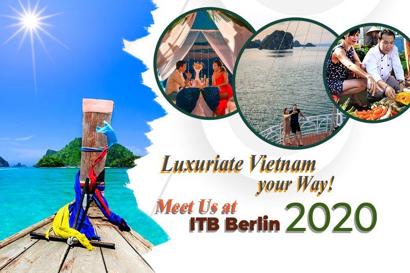 Vietnam luxury tourism to attend itb berlin 2020