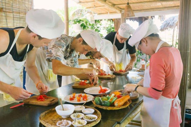 cooking class at hoi an