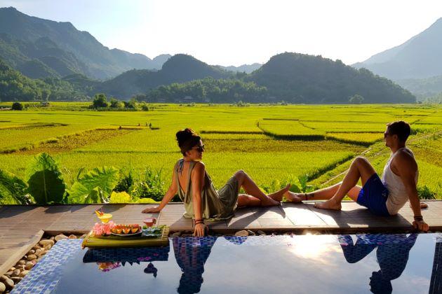enjoy luxury resort in mai chau