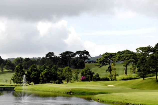 golf course in dalat