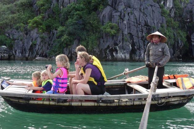 halong bay family tour