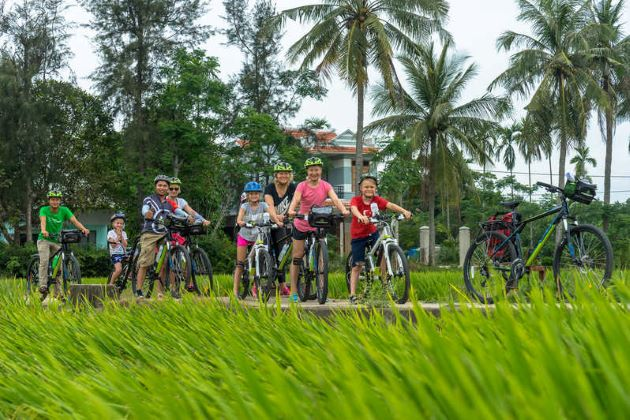 hoi an family cycling tour