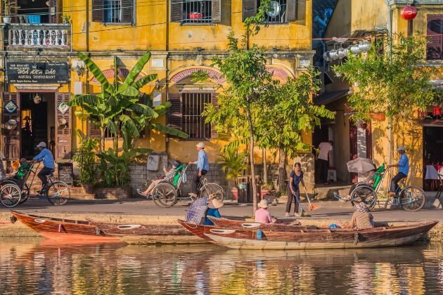 hoi an is a famous destination in luxury vietnam family holidays