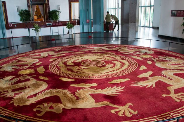 inside reunification palace vietnam beach vacation packages
