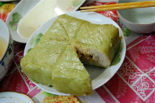 make chung cake for tet vietnam 2020