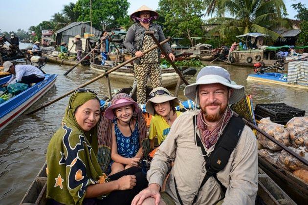 mekong delta family trip