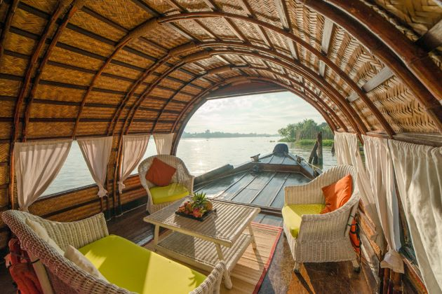 mekong delta sampan luxury cruise