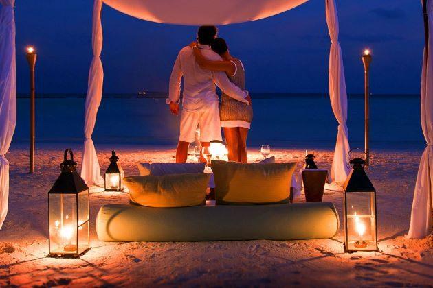 romantic honeymoon on hoi an beach