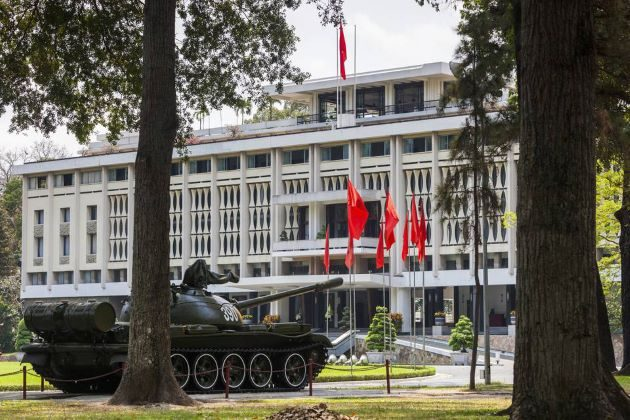 saigon independence palace is one of the most famous attraction of luxury vietnam family holidays