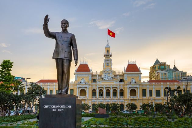 saigon is an interesting stop in family vacation in vietnam