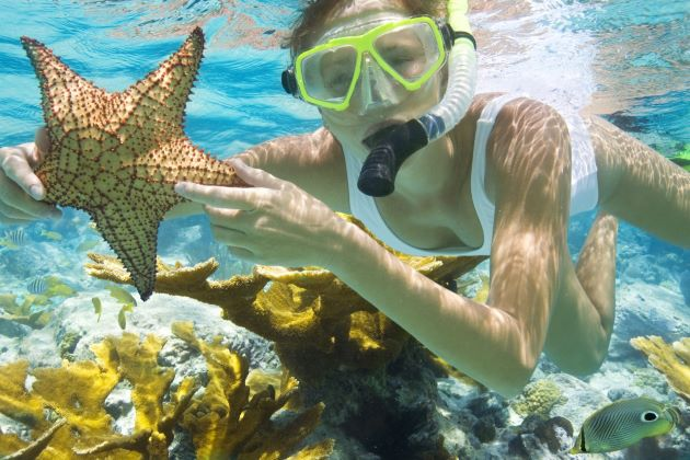 snorkeling in an thoi island