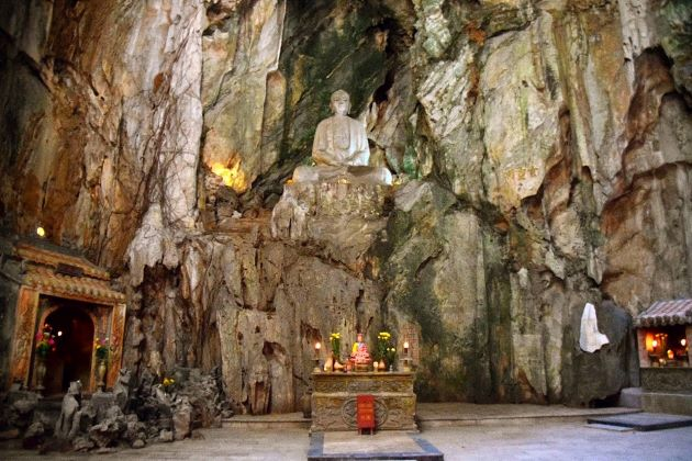 the marble mountain is worth a visit in luxury vietnam family tours