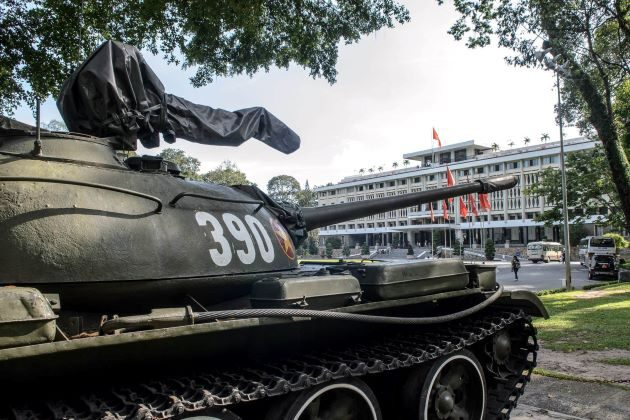 the reunification palace in ho chi minh city