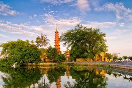 tran quoc pagoda hanoi vietnam luxury vacation