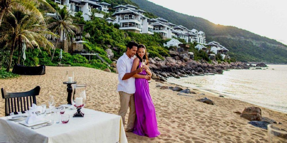vietnam luxury honeymoon packages at beach