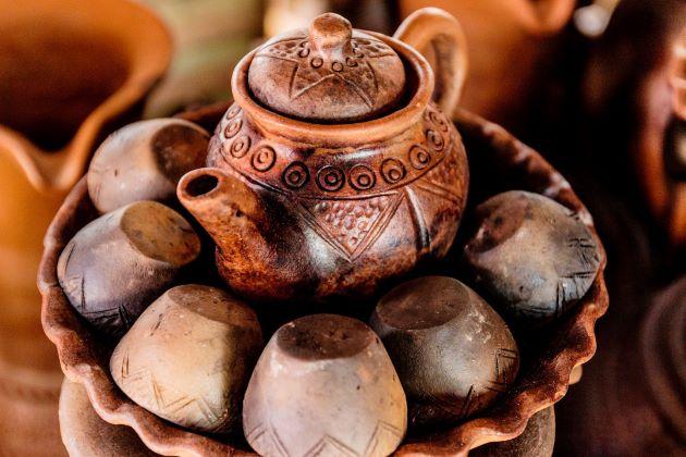vinh long pottery village
