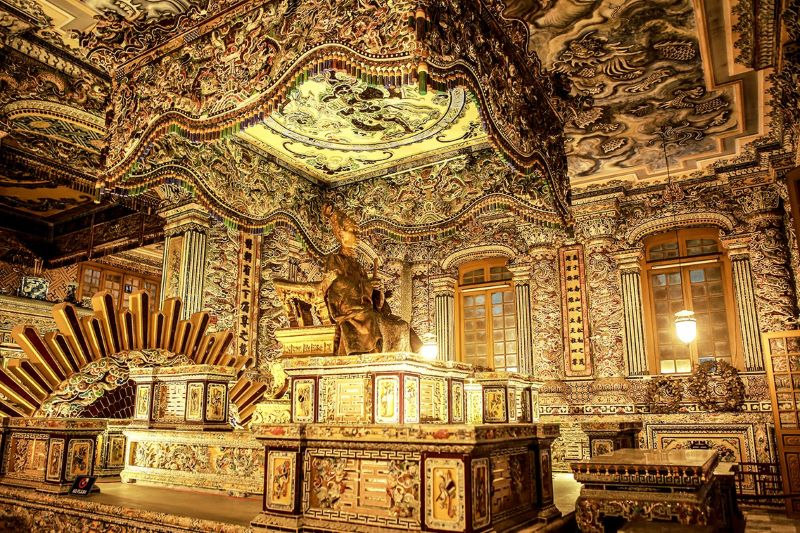 visit khai dinh tomb in vietnam luxury tours