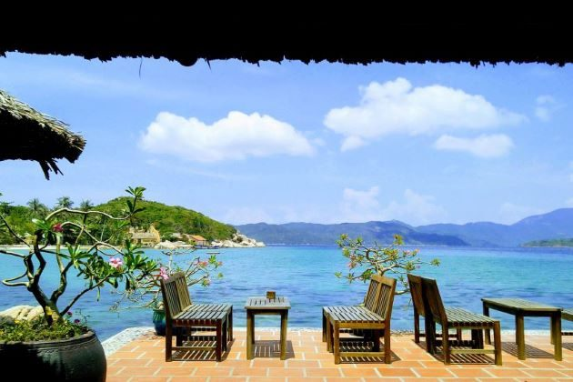 whale island resort for family in nha trang