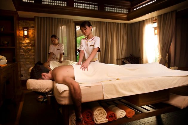 wonderful spa during vietnam luxury travel